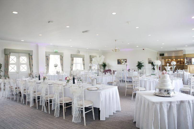 Calder Room Wedding Reception
