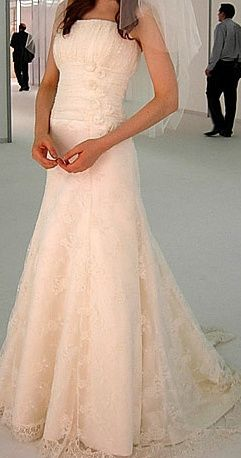 Mimosa wedding gown