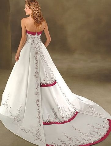Princess line gown