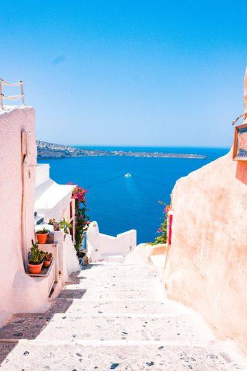 Explore special Santorini