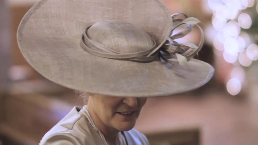 Mother of the bride's hat