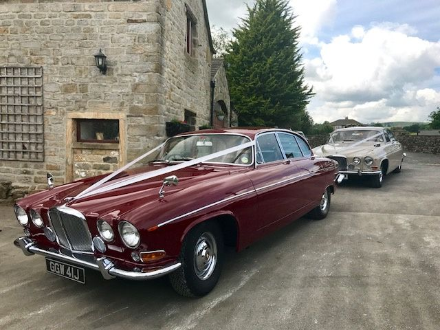 Luxury Classic Jaguar Hire