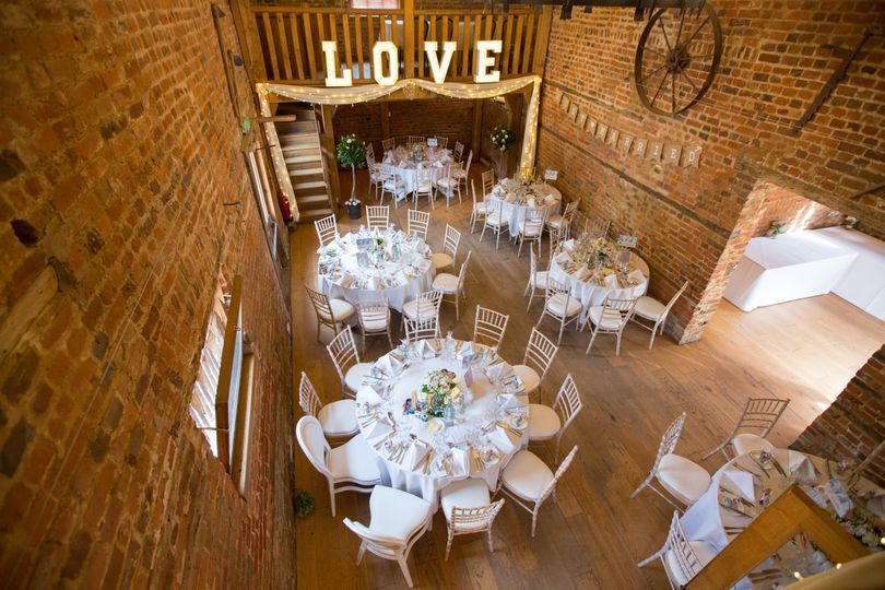 Stable Barn Wedding Breakfast From Tewin Bury Farm Hotel Photo 9