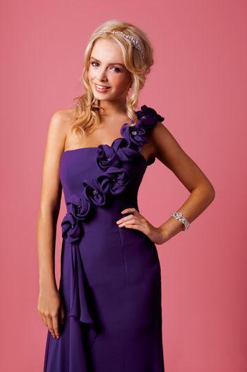 Amanda Wyatt bridesmaid dress