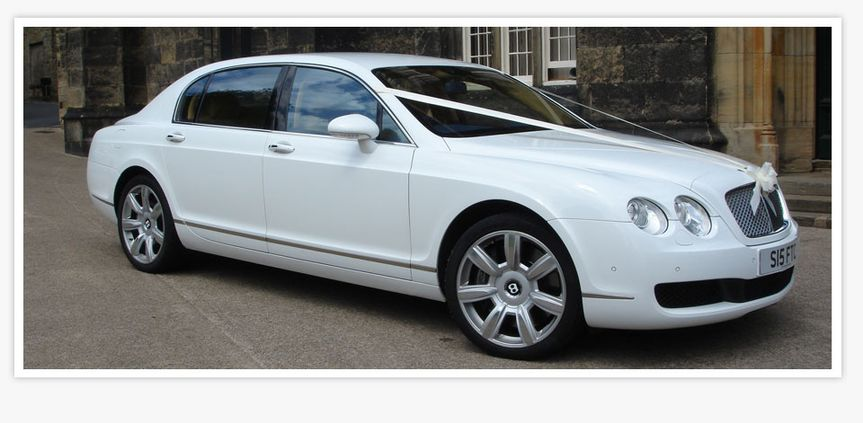 Bentley Flying Spur In White From Manchester Prestige Chauffeur Hire Photos
