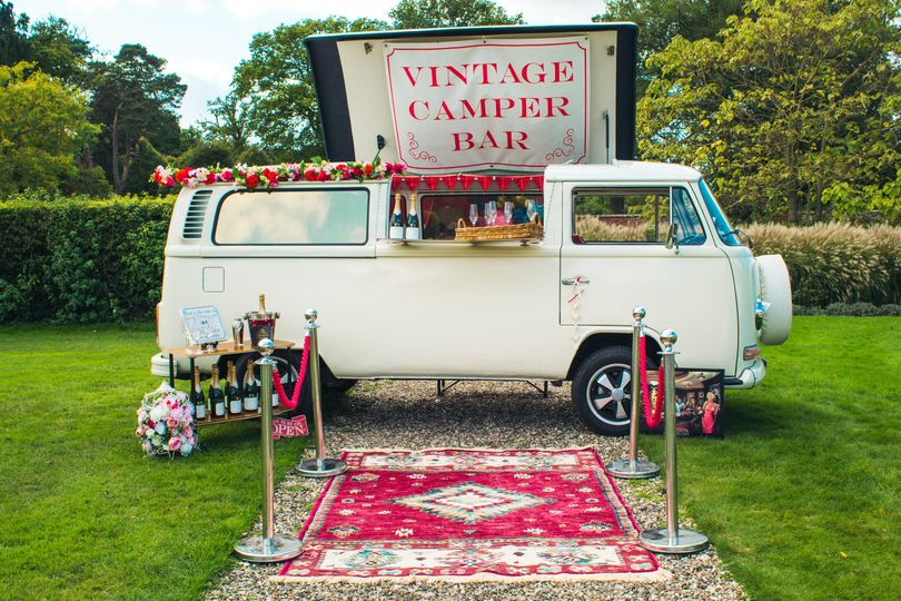 Lottie the Vintage Camper Bar