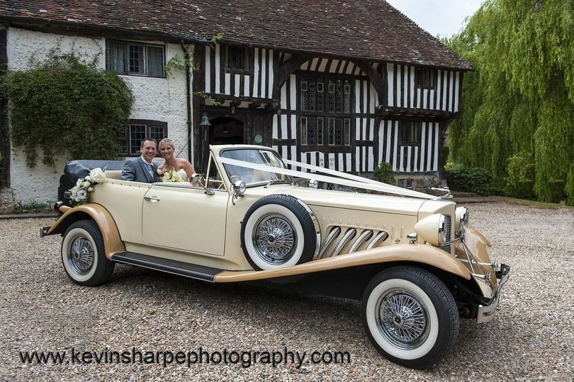 Classic Wedding Car Hire Brighton