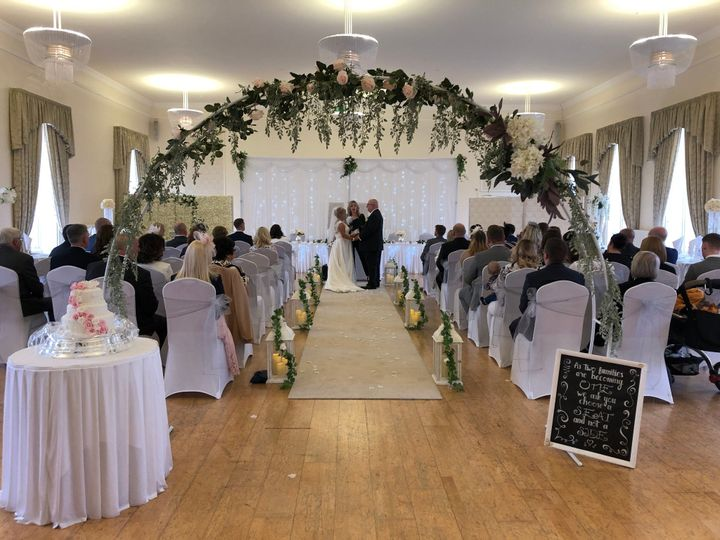 The Grand room ceremony