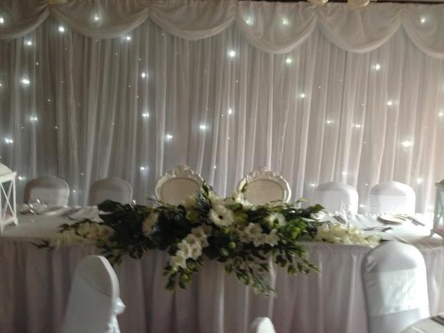 Led back drop hire
