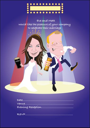 Wedding invitation by mick Wri
