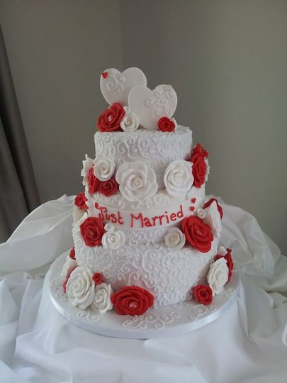 wedding cake bridgend mad about cake wales 22093