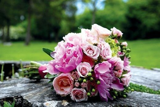 Pink peoneys Bouquet