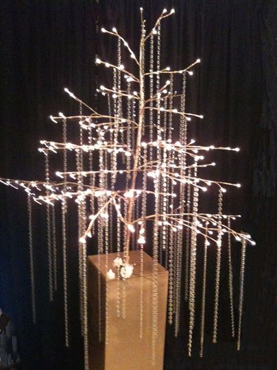 Crystal Tree hire from £45