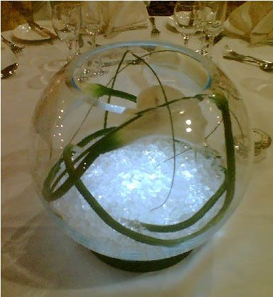 Fishbowl Vase hire from £10