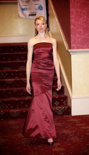 Wonderful dresses in the Royal Wedding Catwalk Show at Newcastle Fashion Week