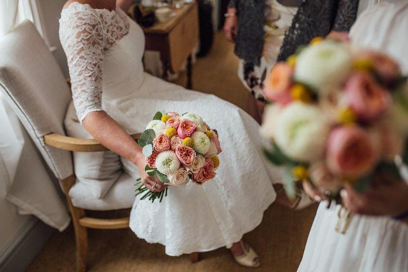 Shrewsbury Bridal Bouquet From Big Little Things Photo 2