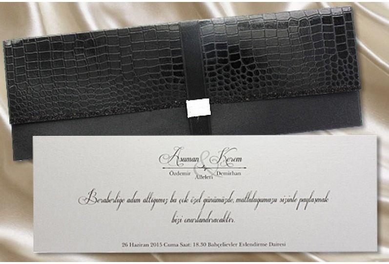 Luxury pocketfold Wedding Card