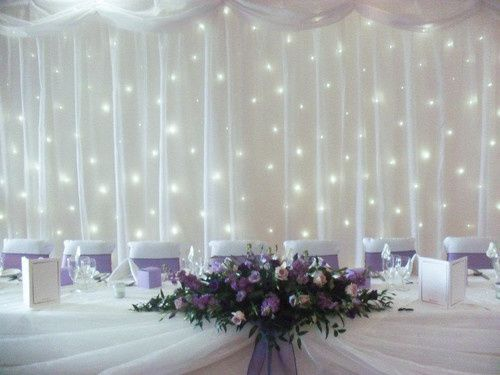 Twinkly backdrop