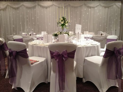 Chair covers - led dance floor