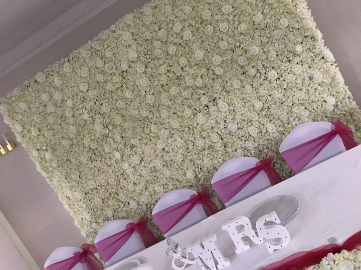 10ft Flower Wall