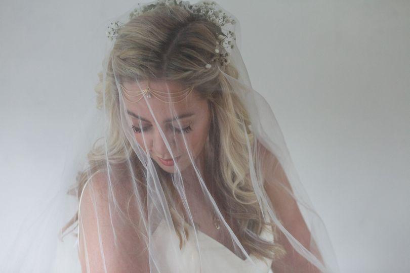 Boho bride portraits