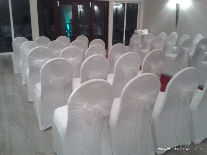 White ceremony room