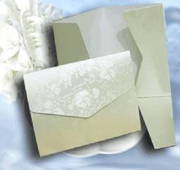 White Broderie C6 Pocketfold