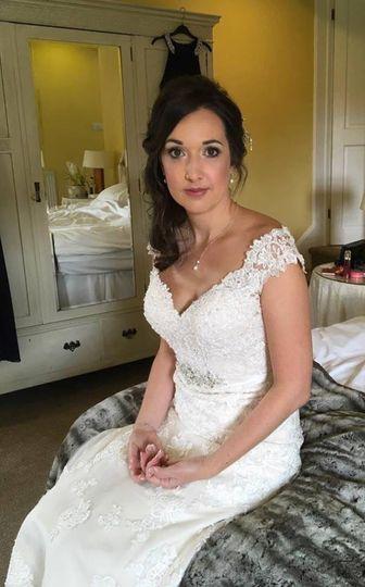 Bridal makeup in Shrewsbury