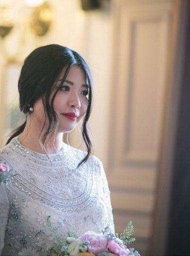 Wedding makeup in Paris