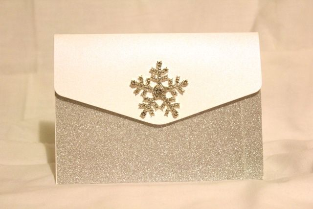Winter purse invitation
