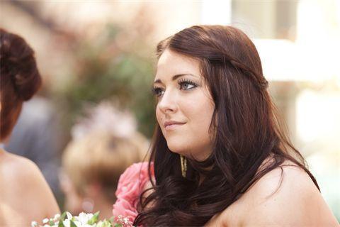 Makeup for bridesmaid