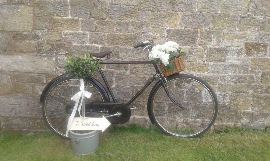 Vintage Raleigh Bicycle 1920