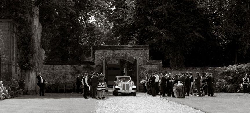 Main gates, Athelhampton House