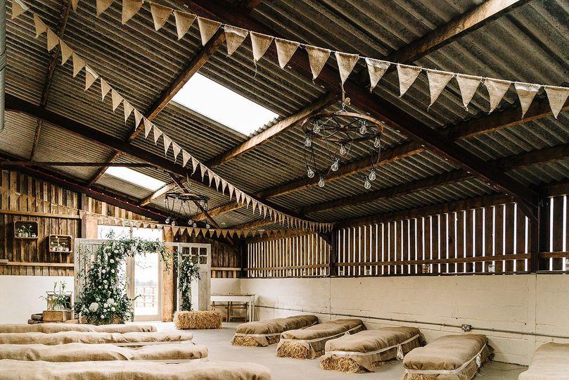 Grange Barn Ceremony Room