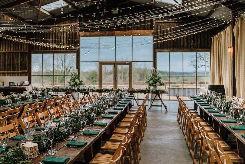Grange Barn Wedding Breakfast