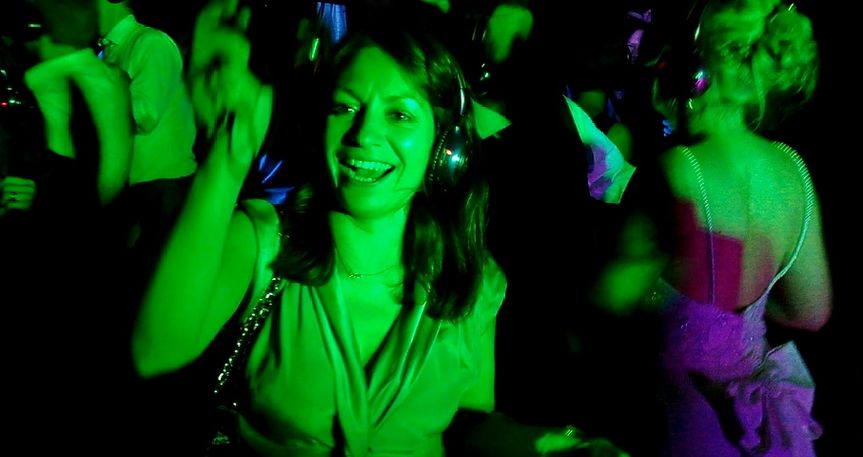 Silent disco add on or stand a