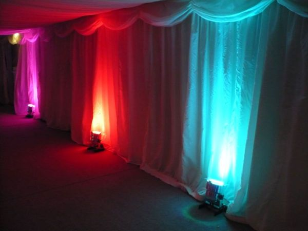 Mod lighting  wedding