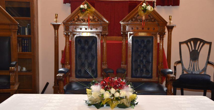 Masonic chairs
