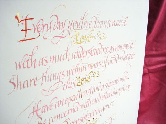 Love Letters - Calligraphy