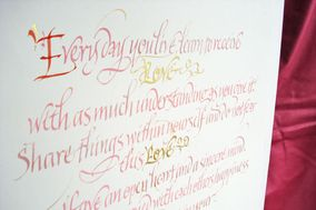 Love Letters Calligraphy