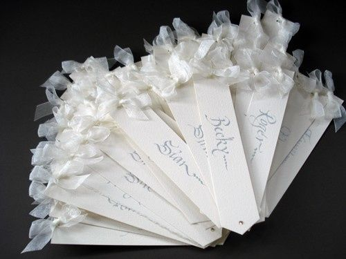 Bookmark Place Cards