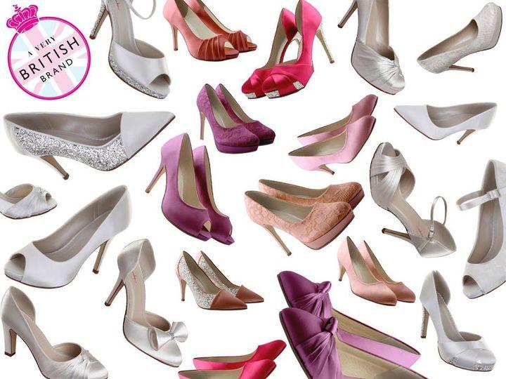 Colour matched shoes