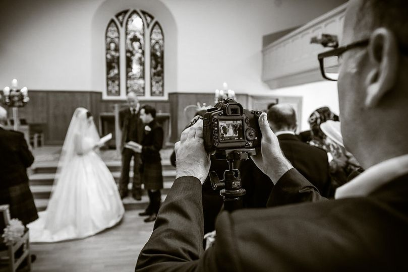 Capturing the wedding day