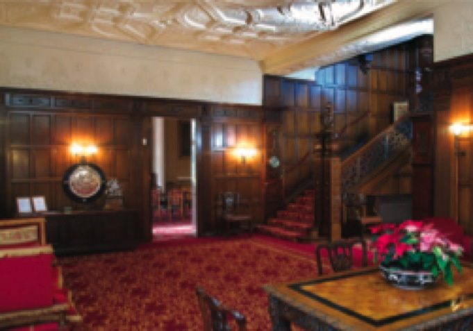 The mansion house reception