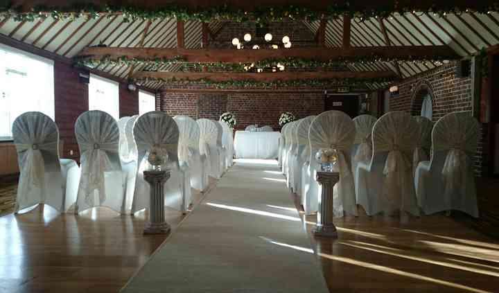 Upstairs ceremonies