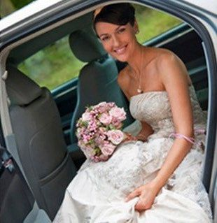 Bride in our Chrysler 300C