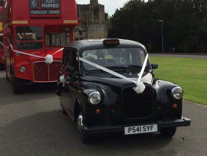 Iconic Cab and Routemaster Bus