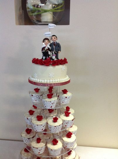 Wedding Cake From The Noel At Whitwell Photo 7