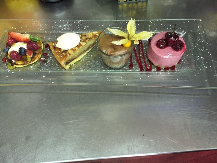 Pudding platter