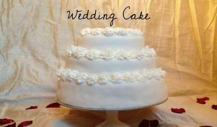 'Serena' Wedding Cake